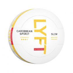 LYFT Caribbean spirit snus
