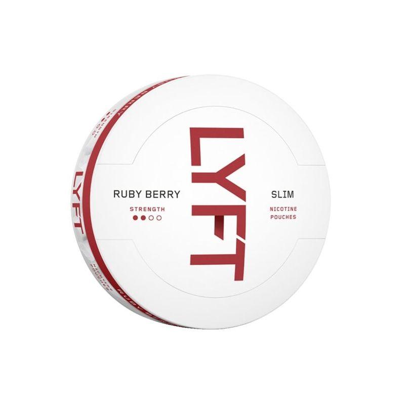LYFT Ruby berry snus